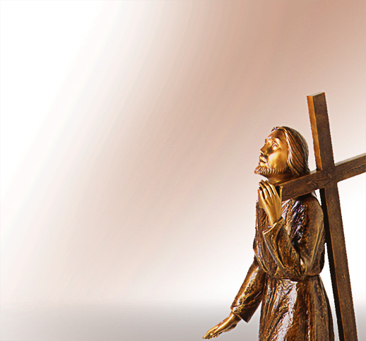 Christus am Kreuz Christusfiguren aus Bronze