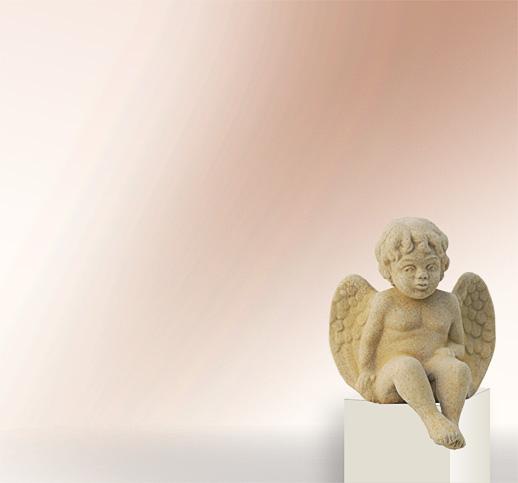 stilvolle engel skulpturen aus stein online kaufen und. Black Bedroom Furniture Sets. Home Design Ideas